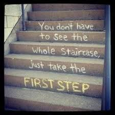 step at a time